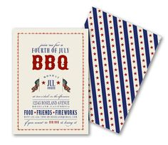 DIGITAL, Printable, DIY BBQ Invitations, Patriotic Vintage July 4th, Memorial Day, Welcome Home Troops