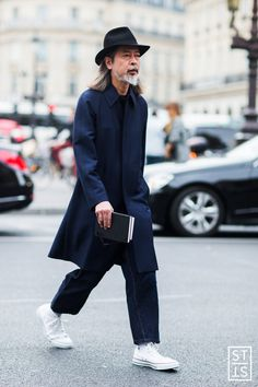 パンツの丈が絶妙。 - 海外のストリートスナップ・ファッションスナップ