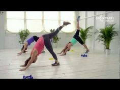 ▶ Sculpt a Sexy Butt and Thighs - CafeMom Studios Workout - Season 2 Episode 2 - YouTube