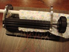 Pleating fabric in preparation for smocking