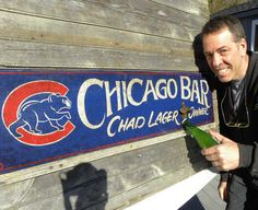 original # Chicago Cubs  sign by ZekesAntiquesigns