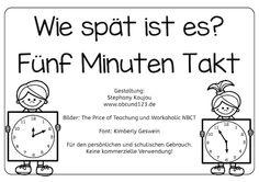 Wie spät ist es?, Uhr, Uhrzeit, lernen, Kinder, Eltern, Arbeitsblatt, kostenlos…