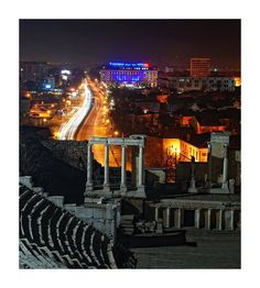 #Plovdiv, Bulgaria,the Ancient Rome Amphitheater