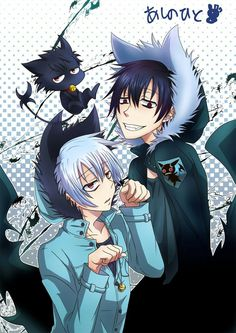 Kuro - Sleepy Ash ~ Servamp ~