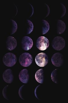Moon phases #outspace