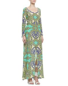 Vale Printed Georgette Maxi Dress by Alexis at Neiman Marcus.