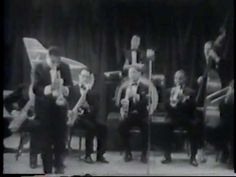 """Satchmo-Louis Armstrong interview and film of Louis in Copenhagen in 1933 with Louis doing """"I Cover The Waterfront"""" and """"Dinah"""" with a band."""