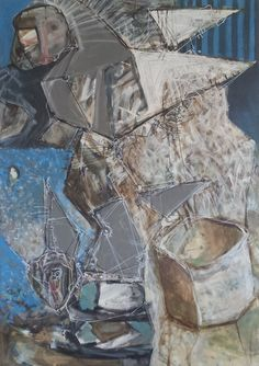 Kin Pawel - Dedal (acrylic on canvas)