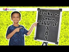 Tricks to learn table of 8 and 9 These simple tricks will definitely help you memorize multiplication tables easily. Now turn times tables into games and . Math Tables, Multiplication Tables, Math Made Easy, Times Tables, Homeschool Math, Numeracy, Home Schooling, Teaching Art, Mathematics