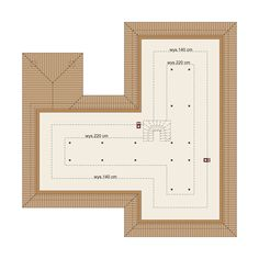 DOM.PL™ - Projekt domu DA Sonia 2 PS CE - DOM DS3-17 - gotowy koszt budowy Ps, House Plans, Chart, How To Plan, Houses, Homes, House Floor Plans, House, Computer Case