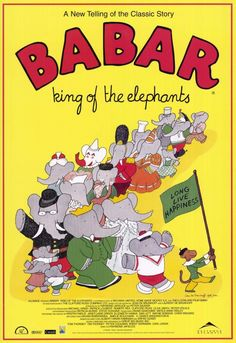 Babar: King of the Elephants 11x17 Movie Poster (1999)