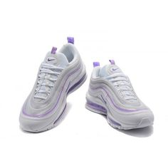 new product 86e7a adfdd Dam Nike Air Max 97 GS Valentines Day Skor Lila Vit 313054-160