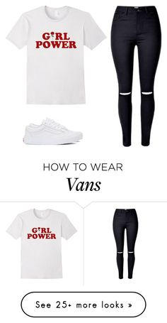 """Untitled #416"" by emily147147 on Polyvore featuring Vans"