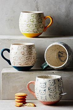 Cat Study Mug #anthropologie #anthrofave