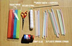 Easy Kitemaking: How to Build a Pyramid Kite