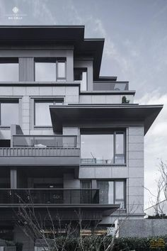 Asian Architecture, Minimalist Architecture, Classic Architecture, Commercial Architecture, Residential Architecture, Architecture Design, Arch House, Facade House, Building Facade