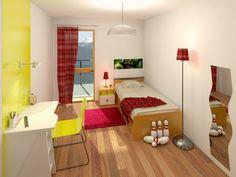 Modélisation et habillage 3D d'une chambre d'enfant pour une promotion immobilière