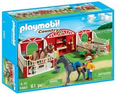 Brinquedo Playmobil Country Pony Stable #Brinquedo #Playmobil
