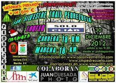 San Silvestre Trail, 19km 500D+,   the last trail in Spain in 2012