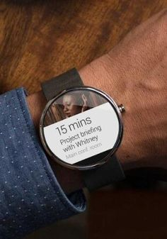 Google officially unveiled Android Wear on Tuesday.  #innovation #gadget #google #technology #watch #smartlife #smartinnovation #smartgadget #android