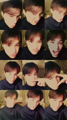 Kai blessing us with selcas ^^