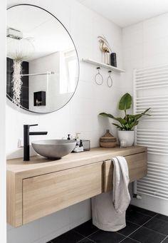 Modern Master Bathroom, Bathroom Layout, Modern Bathroom Design, Bathroom Interior Design, Bathroom Ideas, Bathroom Organization, Master Bathrooms, Bathroom Mirrors, Bathroom Storage
