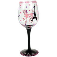$16.00-$16.00 Westland giftware ohh la la wine glass. This fun glass is perfect for entertaining. Holds 15-ounce.