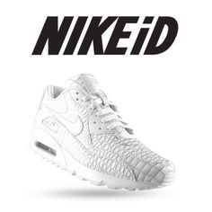 Following on from yesterdays #NIKE AIR MAX 90 @nikeid feature, we set to  work on this AM90iD 'CROC WHITEOUT'... Head over to the NEWS section on ...