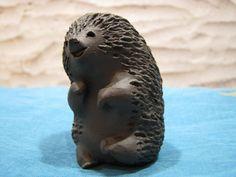 Hedgehog Ellen Karlsen Design Denmark – Vintage Danish Studio Pottery – Scandinavian Modern Denmark – 1960s Mid Century – Cute von everglaze auf Etsy