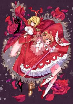 Cross-Over Image - Zerochan Anime Image Board Syaoran, Cardcaptor Sakura, Fate Extra Saber, Anime Manga, Anime Art, Fate Stay Night Series, Sakura Cosplay, Card Captor, Clear Card