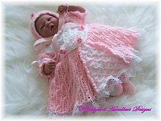 16-24 pulgadas muñeca / 0-3m baby-tudor, elizabeth, vestido de 'Baby Elizabeth'