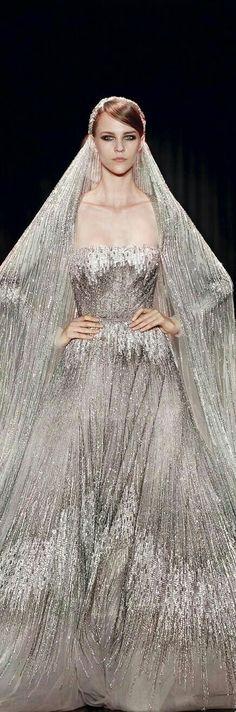 Elie Saab couture bride