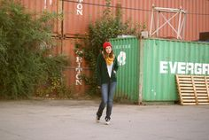 Cozy in Colour | Flannel Foxes Tomboy Fashion Blog