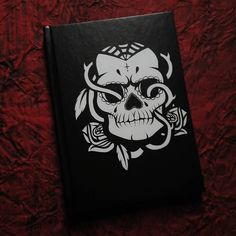 """'Sugar Skull' Hardback Journal available  on my @redbubble shop """