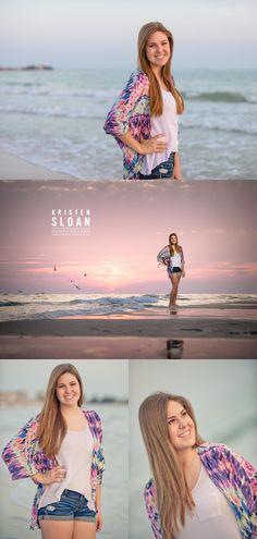 St Pete FL Senior Portrait Session at Treasure Island Beach and Downtown Saint Petersburg