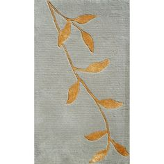 I pinned this Golden Leaves Rug from the Welcoming Accents event at Joss and Main!