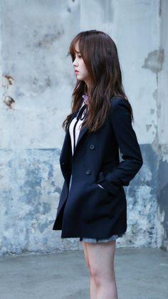 (9) Twitter Cute Korean, Korean Girl, Asian Girl, Kim So Hyun Fashion, Korean Fashion, Korean Actresses, Korean Actors, School Uniform Fashion, Kim Sohyun