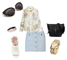 """""""Untitled #734"""" by gerdux16 on Polyvore featuring MINKPINK, Marni, Topshop Unique, McQ by Alexander McQueen and Kenneth Jay Lane"""