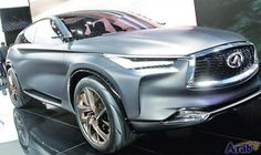 Latest Infiniti QX to compete