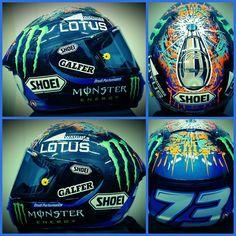 Alex Marquez 2015 helmet