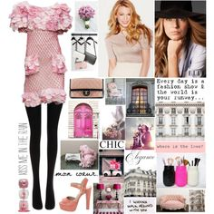 """""""Chanel girl"""" by misslenny on Polyvore"""