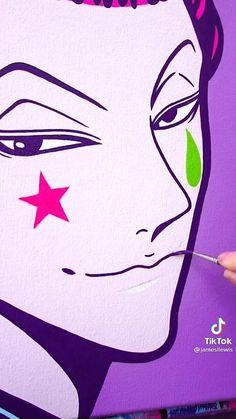 Cute Canvas Paintings, Diy Canvas Art, Manga Art, Anime Art, Pop Art Wallpaper, Art Painting Gallery, Anime Crafts, Cartoon Painting, Photo Images