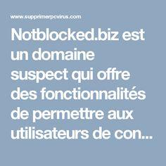 Notblocked.biz est un domaine suspect qui offre des fonctionnalités de permettre aux utilisateurs de contourner toute forme de restriction sur le web. Le dispositif est bon pour de nombreux utilisateurs, mais ce service est offert au prix annonces parrainé bombardant, problèmes de redirection des pages Web et violation de la confidentialité des données personnelles. Vous pouvez utiliser la fonction proxy de Notblocked.biz directement sur ses sites Web. En outre, il demande également à que…