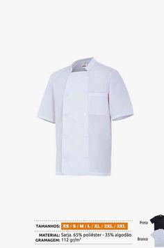 URID Merchandise -   CASACO COZINHEIRO MANGA CURTA   16.85 http://uridmerchandise.com/loja/casaco-cozinheiro-manga-curta-2/