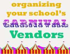 Choosing vendors to help with your school carnival can make or break the evening.  Here's what we have chosen to do al our school.
