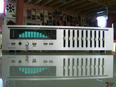 Pioneer SPEC vintage SG-50 equalizer with spectrum analyzer in excellent shape!