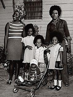 Marley family portrait 1973.....