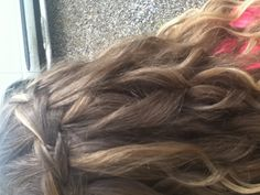 My hair for winter homecoming