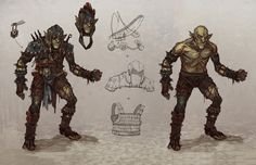 Goblin Armor from Of Orcs And Men