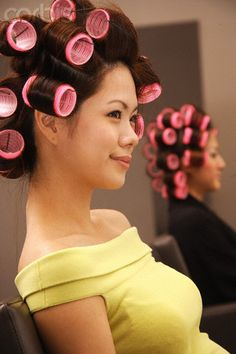(notitle) Sure, the bushy perms of the might be out of vogue, but there are teemingness (generic Big Hair Rollers, Sleep In Hair Rollers, Permed Hairstyles, Modern Hairstyles, Updo Styles, Long Hair Styles, Air Dry Hair, Types Of Curls, Wand Curls